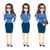 Businesswoman With Glasses Gestures stock photo © Kakigori