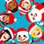 Дед · Мороз · друзей · Рождества · вектора · дерево · улыбка - Сток-фото © kakigori