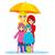 family under umbrella stock photo © kakigori