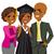 african american family graduation day stock photo © kakigori