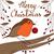 robin with red bauble stock photo © kakigori