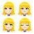 sweet blond girl stock photo © kakigori