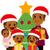 african american family celebrating christmas stock photo © kakigori