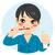 漫画 · 少年 · バック · 歯 · 芸術 · レトロな - ストックフォト © kakigori