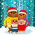 christmas bear family stock photo © kakigori