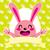 happy pink bunny stock photo © kakigori