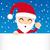 веселый · Рождества · Дед · Мороз · сообщение · совета · снега - Сток-фото © kakigori