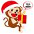 漫画 · サンタクロース · 吹き出し · 手 · クレイジー · クリスマス - ストックフォト © kakigori