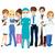 hospital medical team stock photo © kakigori