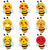 zangado · abelha · desenho · animado · ilustração · grandes · olhos · cara - foto stock © kakigori