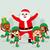 santa claus and elves stock photo © kakigori