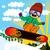 active snowboarder kid stock photo © kakigori