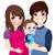 feliz · grávida · casal · casa · família · bebê - foto stock © kakigori