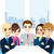 businesspeople office meeting stock photo © kakigori