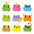 animales · cara · colección · nueve · funny · cute - foto stock © kakigori