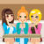 mulheres · potável · café · dois · mulheres · jovens · amigos - foto stock © kakigori