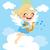 飛行 · 雲 · 画像 · 平面 · 山 - ストックフォト © kakigori