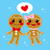 gingerbread couple stock photo © kakigori