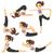 ingesteld · vrouw · mediteren · yoga · meisje · gezondheid - stockfoto © kakigori