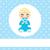 sevimli · bebek · erkek · karikatür · oturma · emzik - stok fotoğraf © kakigori