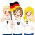 ドイツ · 少女 · フラグ · にログイン · 実例 · オクトーバーフェスト - ストックフォト © kakigori