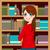 woman in library stock photo © kakigori