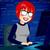 computer · nerd · cartoon · felice · tastiera · monitor - foto d'archivio © kakigori