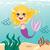 weinig · zeemeermin · meisje · natuur · zee · schoonheid - stockfoto © kakigori