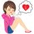 broken heart woman crying stock photo © kakigori