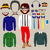 hipster smiling paper doll man stock photo © kakigori