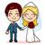 married couple holding hands stock photo © kakigori