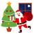 Navidad · feliz · mano · postal · alegre - foto stock © kakigori
