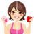 diéta · forma · hölgy · lány · szépség · női - stock fotó © kakigori
