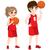 молодые · баскетбол · белый · фитнес · фон - Сток-фото © kakigori