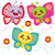 красочный · бабочки · вектора · общий - Сток-фото © kakigori