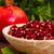 пластина · гранат · семян · белый · фрукты · группа - Сток-фото © kalozzolak