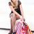 compras · casa · mulher · jovem · sacos · sessão · sofá - foto stock © kalozzolak