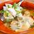 tyúk · húsleves · friss · zöldségek · snidling · étel · levél - stock fotó © kalozzolak