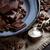 baharatlar · gümüş · plaka · mevsimlik · rustik · siyah - stok fotoğraf © kalozzolak