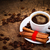 kávé · fahéj · tekercsek · bogyók · reggeli · fa · asztal - stock fotó © kalozzolak