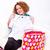 novo · camisas · quadro · mulher · feliz - foto stock © kalozzolak