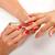 női · kéz · tart · szög · ecset · nő - stock fotó © kalozzolak