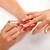 vrouwelijke · hand · nagel · borstel · vrouw - stockfoto © kalozzolak