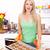 prêt · four · préparé · ingrédients · table - photo stock © kalozzolak