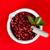 種子 · 赤 · 緑色の葉 · フルーツ · 背景 - ストックフォト © kalozzolak