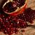 juteuse · grenade · semences · coup · fraîches - photo stock © kalozzolak