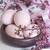 arte · easter · eggs · fiori · di · primavera · legno · blu - foto d'archivio © karaidel