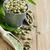 verde · café · feijões · terreno · foco · cópia · espaço - foto stock © Karaidel