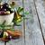 zeytin · seramik · kaşık · fesleğen · zeytinyağı · gıda - stok fotoğraf © karaidel