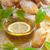 limão · chá · raio · clássico · foco · flor - foto stock © Karaidel